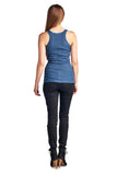 Urban Love Henley Tank with Lurex Thread - WholesaleClothingDeals - 5