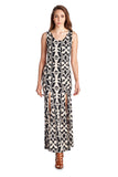 Urban Love Sleeveless Maxi Dress with Front Slits - WholesaleClothingDeals - 1