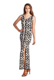 Urban Love Sleeveless Maxi Dress with Front Slits - WholesaleClothingDeals - 2