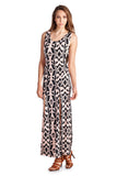 Urban Love Sleeveless Maxi Dress with Front Slits - WholesaleClothingDeals - 7