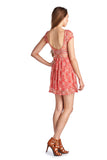 Urban Love Sleeveless Floral Lace Dress - WholesaleClothingDeals - 9