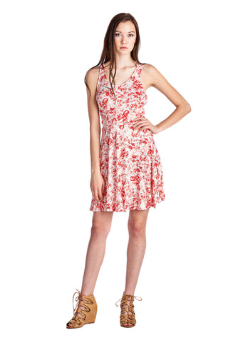 Urban Love Printed Jersey Dress - WholesaleClothingDeals - 6