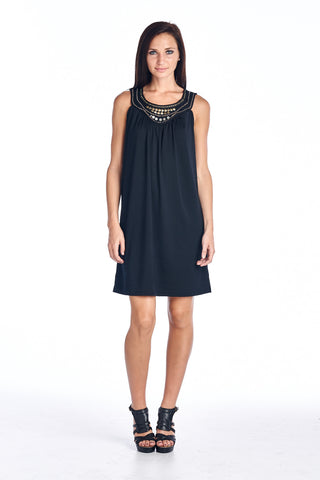 Christine V Beaded Sequin Dress - WholesaleClothingDeals - 1