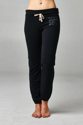 Mambo Fold-over Waistband French Terry Screened Sweatpants - WholesaleClothingDeals - 1