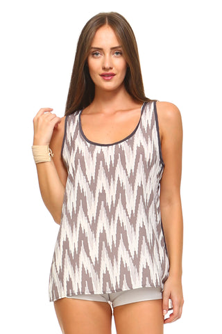 Women's Sleeveless Scoop Neck Tank Top