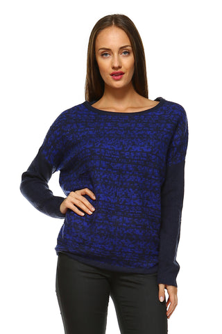 Women's Knit Drop Sleeve Sweater