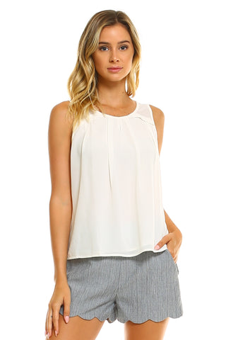 Women's Tank with Keyhole Front and Back