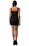 Women's Lace Bodycon Dress with Elastic Back Detail