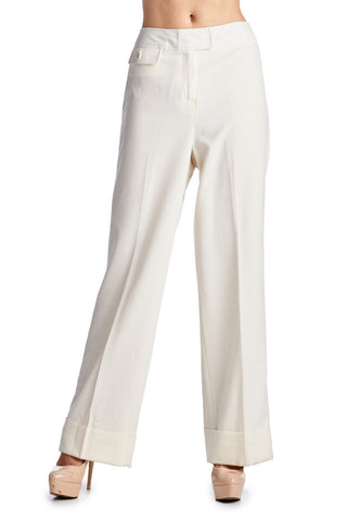 Larry Levine Stretch Lined Pant - WholesaleClothingDeals - 1