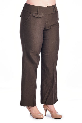 Larry Levine Stretch Pant - WholesaleClothingDeals - 1