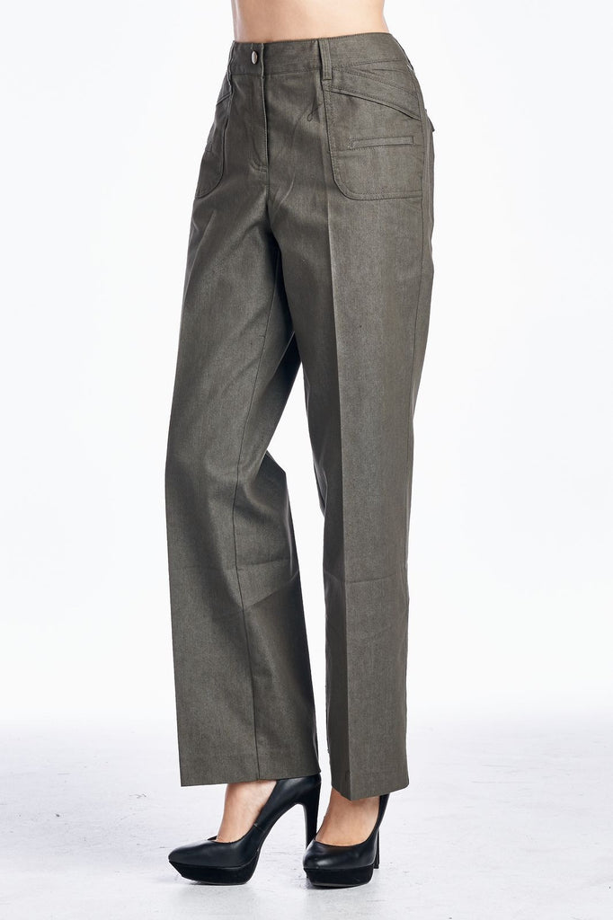 Larry Levine Stretch Pants - WholesaleClothingDeals - 2