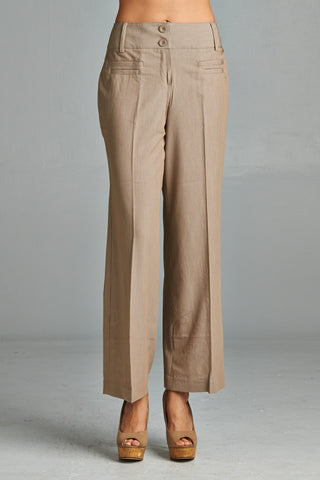 Larry Levine Front Pocket Pants - WholesaleClothingDeals - 1