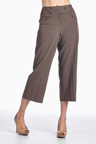Larry Levine Career Capris - WholesaleClothingDeals - 1