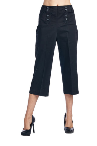 Larry Levine Stretch Capris - WholesaleClothingDeals - 1