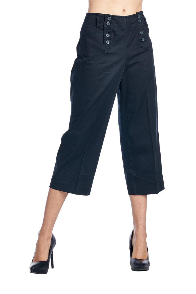Larry Levine Stretch Capris - WholesaleClothingDeals - 7