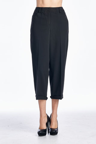 Larry Levine Sleek & Slim Capris - WholesaleClothingDeals - 1