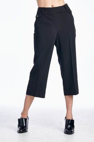 Larry Levine Stretch Tailored Capris - WholesaleClothingDeals - 1