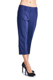 Larry Levine Stretch Capris - WholesaleClothingDeals - 2