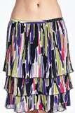 Larry Levine Layered Pleated Skirt - WholesaleClothingDeals - 5