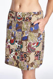 Larry Levine Batik Printed Patchwork Skirt - WholesaleClothingDeals - 5