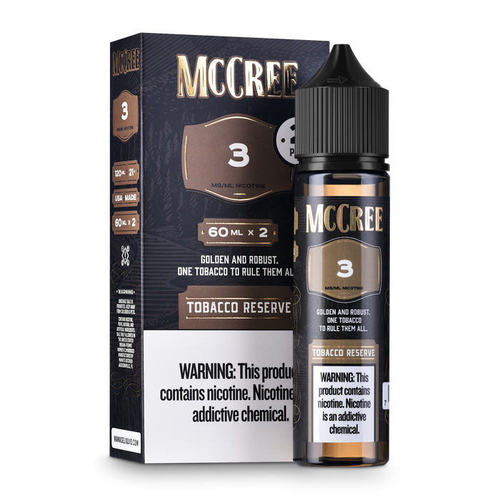 Tobacco Reserve 2-Pack (120mls)