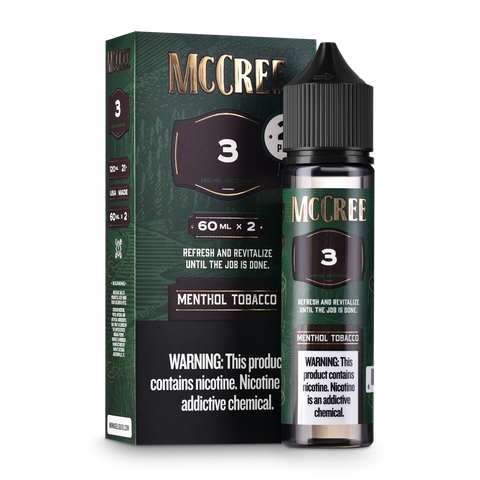 McCree Menthol Tobacco 2-Pack (120mls)