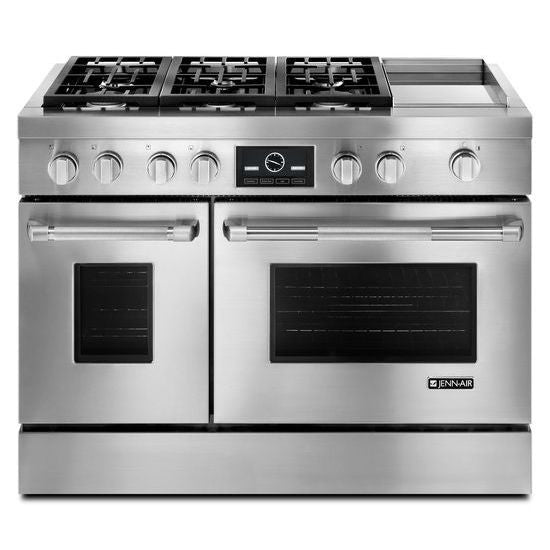 Jenn-Air Pro-Style Dual-Fuel Range with Griddle and MultiMode Convection - Call for Pricing