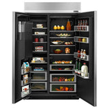 "Jenn-Air 48"" Built-In Side-by-Side Refrigerator with Water Dispenser - Call for Pricing"