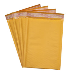 Kraft Padded Bubble Mailers