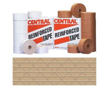 "Load image into Gallery viewer, Central Kraft Gummed Tape | 2.83"" x 375' 