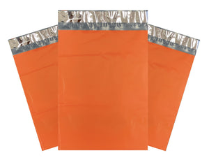 Orange Poly Mailers