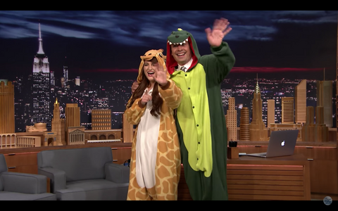 Onesies at The Tonight Show!