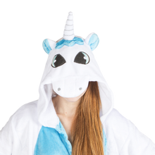 White-Blue Unicorn Yumio