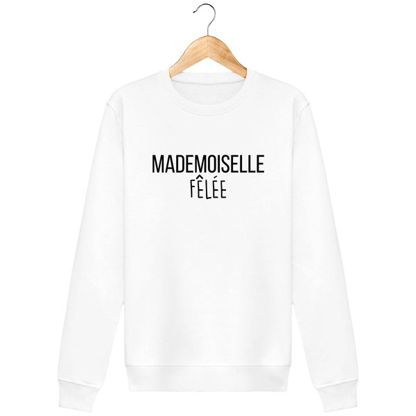 Sweat shirt mademoiselle fêlée