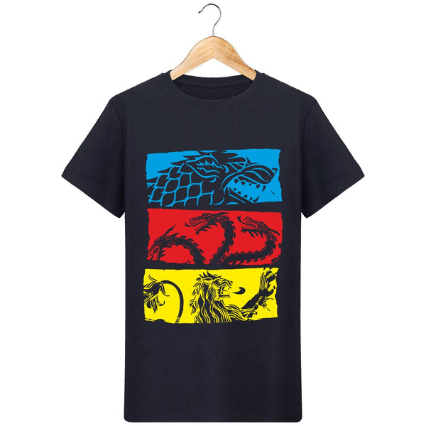 T-Shirt game of thrones dragons