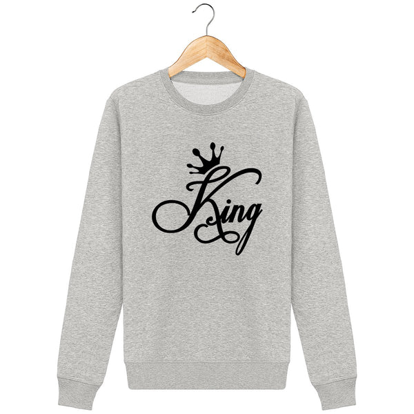 Sweat pull king couple pour homme
