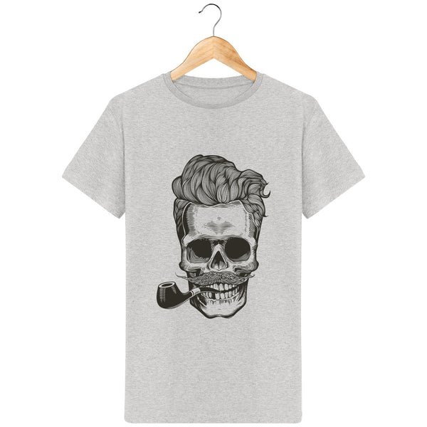 T-Shirt homme barbe barbu pipe
