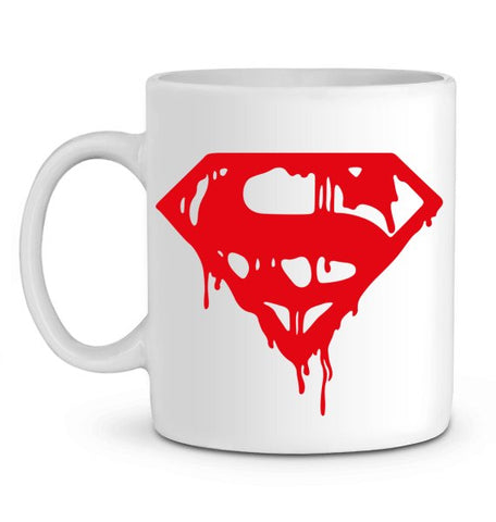 Mug Superman sanglant en Céramique