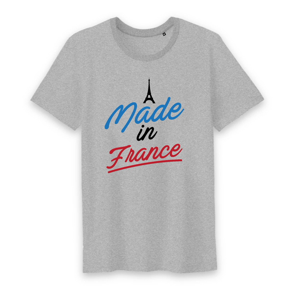 T-shirt Homme 100% coton BIO Made in France