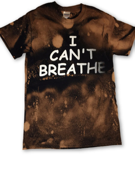 """I can't breathe"" graphic tee"