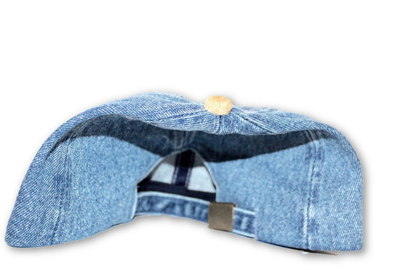 Denim baseball cap - wardrobecult
