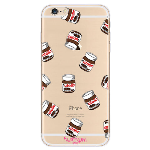 iPhone Funny Food Tpu NUTELLA Case
