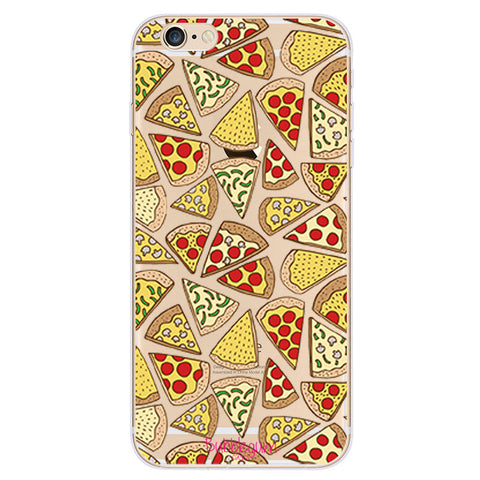 iPhone Funny Food Tpu PIZZA Case