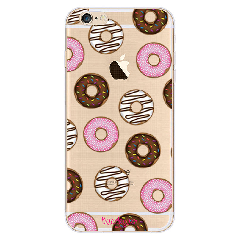 iPhone Funny Food Tpu DONUT Case