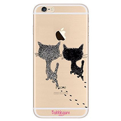 iPhone Artistic Animals Tpu Cats Walking