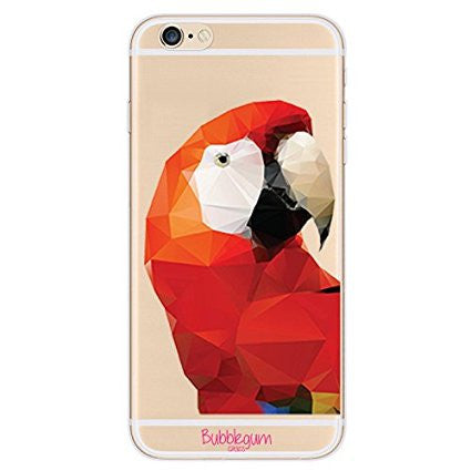 iPhone Artistic Animals Tpu Parrot