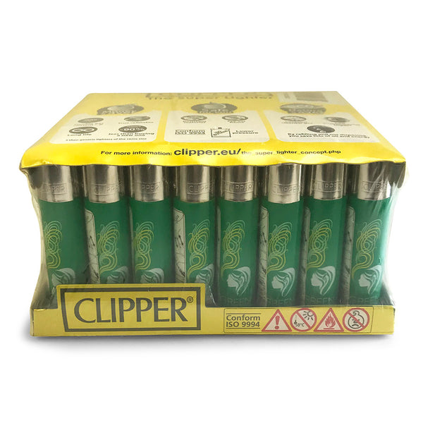 Clipper Lighter 48-Piece PDQ Display