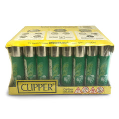 Clipper Lighter 48-Piece PDQ Display - Green Goddess Supply