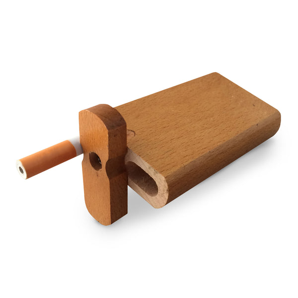 "4"" Swivel Cap Wooden Dugout - Plain"