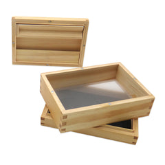Pine Pollen Sifter Box w/ 100 Micron Screen - Green Goddess Supply